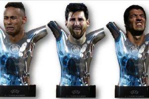 Los internautas destacaron la ausencia de las estrellas del Barça en la gala. Foto:Vía twitter.com. Imagen Por: