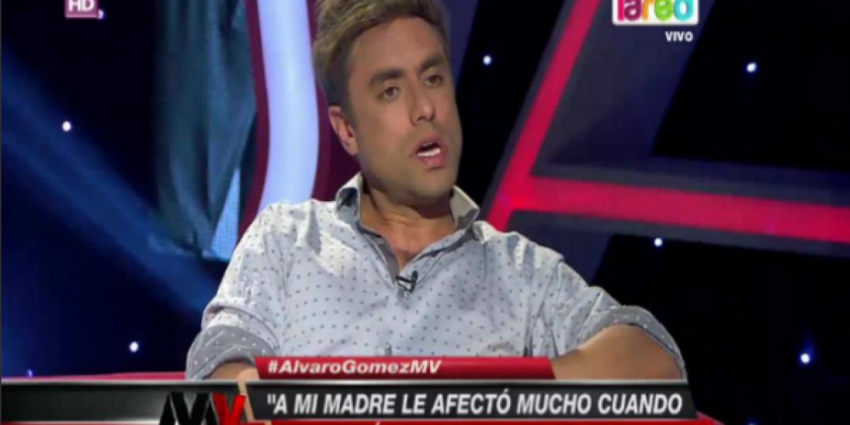 Álvaro Gómez dice no creer en la justicia por el caso de abuso que sufrió