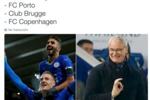 A Leicester City no le tocó mal grupo. Foto:Vía twitter.com. Imagen Por: