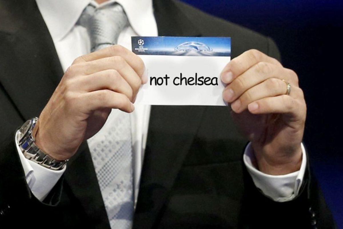 Lo único seguro antes de comenzar el sorteo. Foto:Vía twitter.com. Imagen Por:
