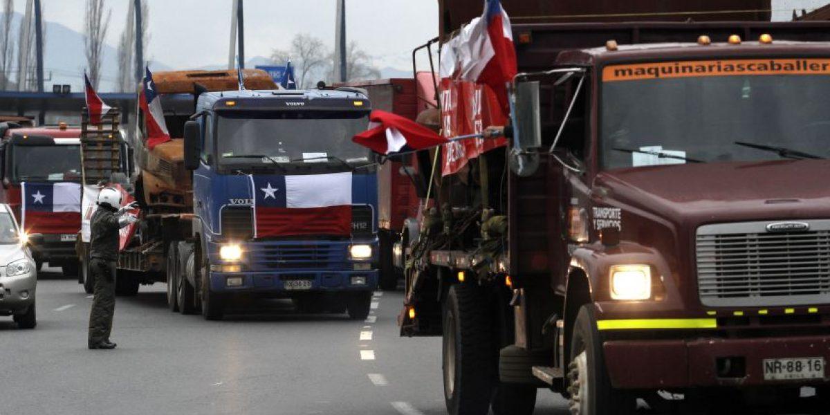Camioneros aseguraron que no paralizarán el tránsito en movilización de este sábado