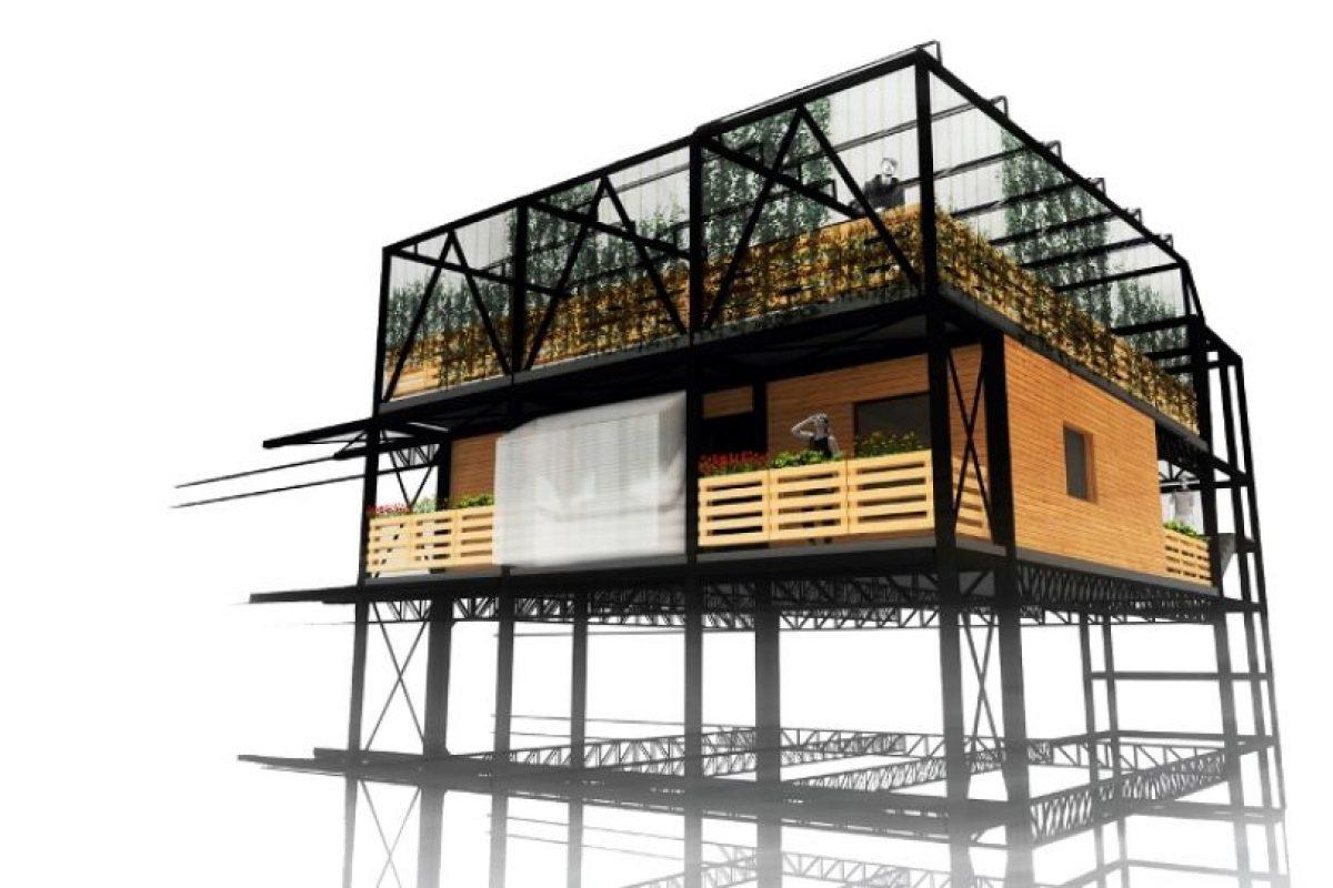 Modulo Tendal, Universidad Central. Imagen Por: