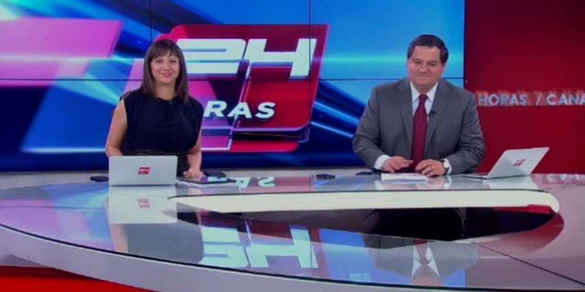 Director de prensa de TVN celebra segundo lugar de