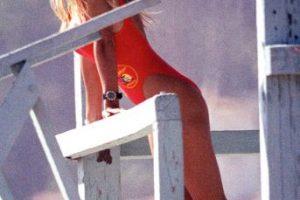"Se hizo sex symbol por ""Baywatch"". Foto:Getty Images. Imagen Por:"