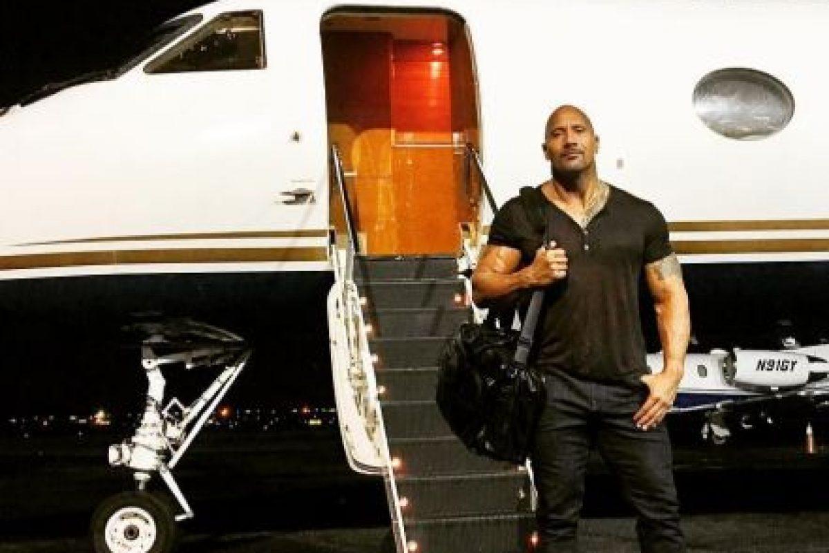"""Los problemas de """"La Roca"""" con Vin Diesel habrían sido fingidos Foto:Instagram. Imagen Por:"""