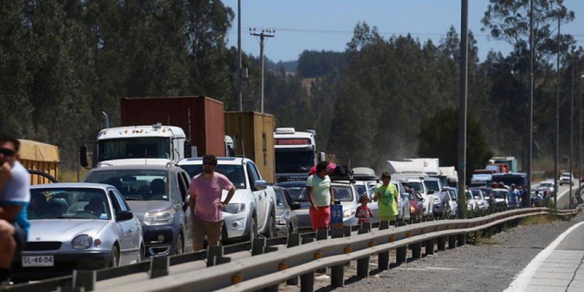 Camioneros se congregarán en peaje Angostura para manifestarse en contra de la delincuencia