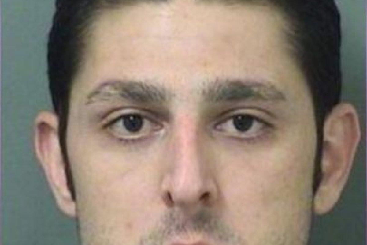 """Paul Maida, regresa a la carcel por darle """"like"""" a una foto en Facebook Foto:Oficina del Alguacil del Condado de Palm Beach. Imagen Por:"""