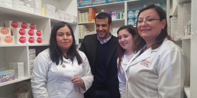 Estación Central inaugura su primera farmacia comunal