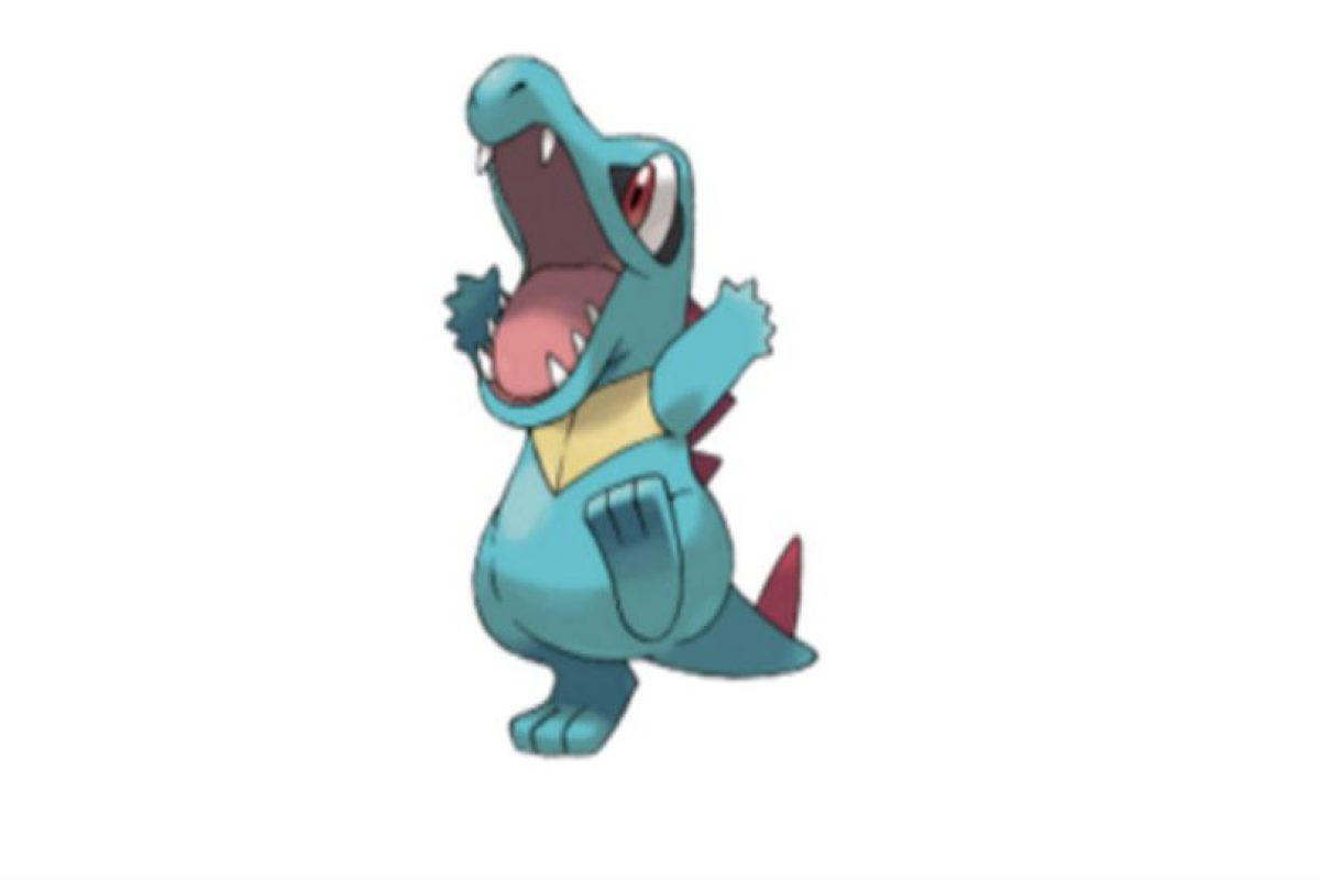Totodile… Foto:Pokémon. Imagen Por: