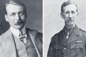 Sir Mark Sykes (izquierda) y Charles François Georges-Picot Foto:AFP. Imagen Por: