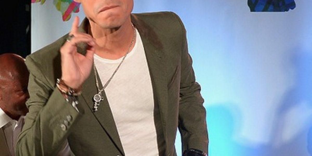 Marc Anthony lloró al recordar a Juan Gabriel en su concierto