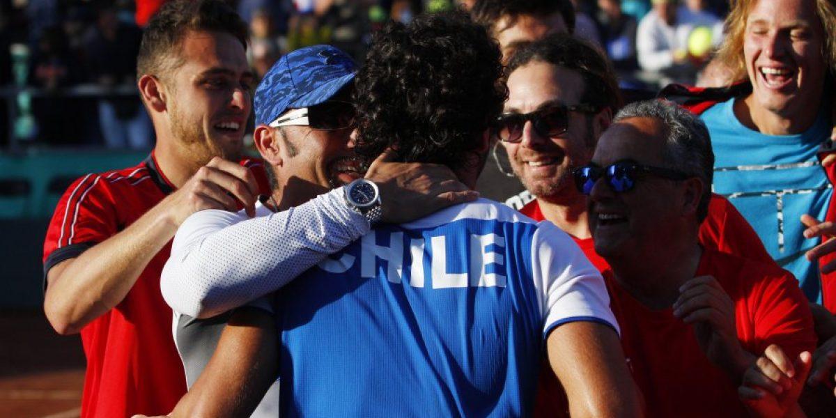 Christian Garín es la novedad del equipo de Copa Davis para repechaje con Canadá