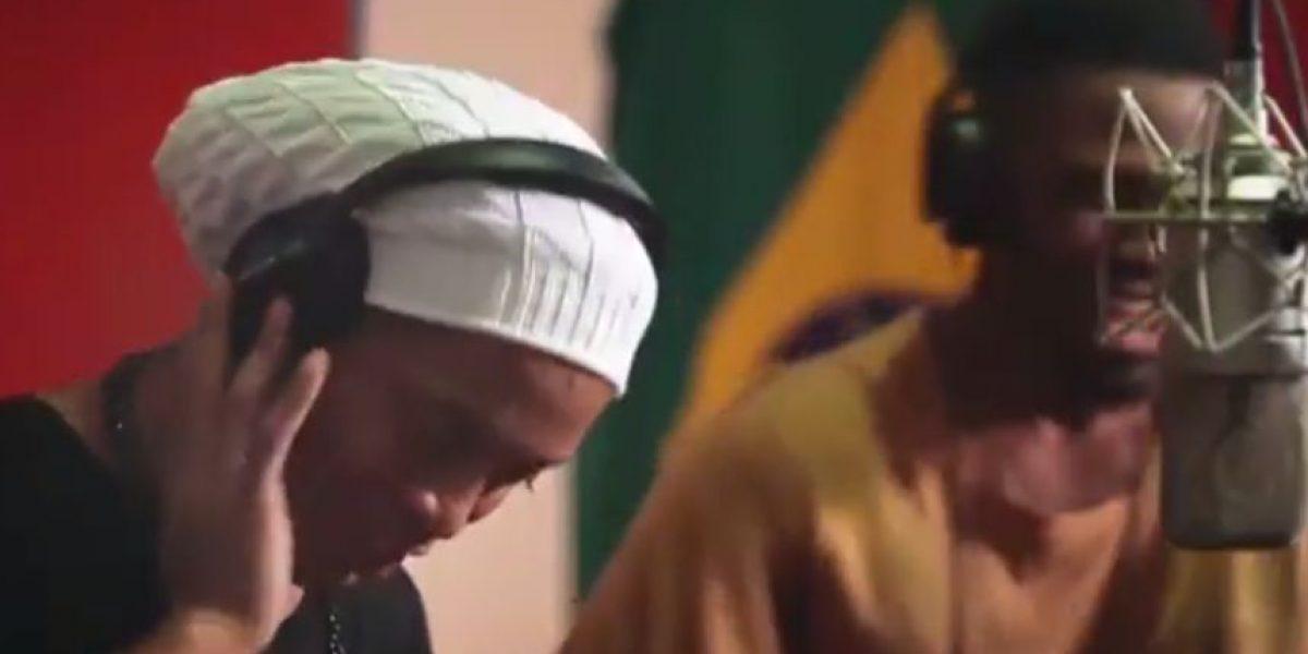 Ronaldinho interpreta canción de Juegos Paralímpicos de Río 2016