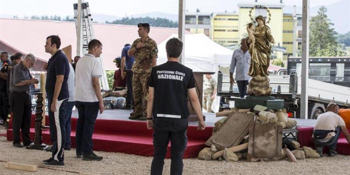 Italia celebrará funeral de Estado en Amatrice tras protestas de los supervivientes