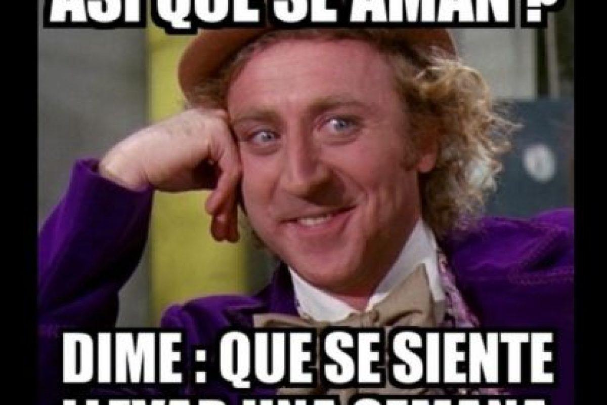 Graciosos memes de Willy Wonka Foto:Twitter. Imagen Por: