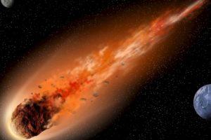 Aunque el temor mundial se acrecentó por el supuesto asteroide que caería (y no cayó), esto es lo que podría pasar si el asteroide que mató a los dinosaurios cayera en la Tierra. Foto:Astroart. Imagen Por: