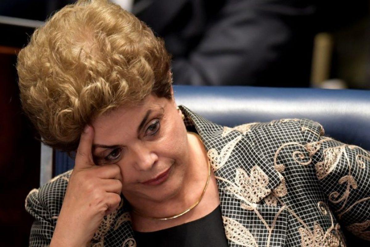 Dilma Rousseff es destituida de la presidencia Foto:AFP. Imagen Por:
