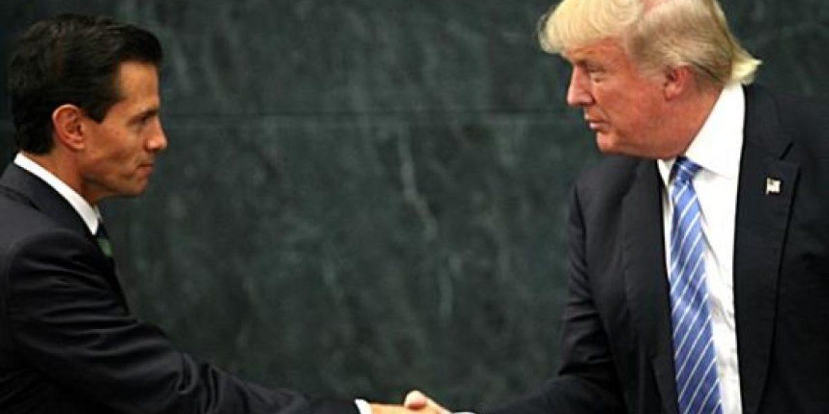 Trump defiende en México la construcción de un muro en la frontera con EEUU
