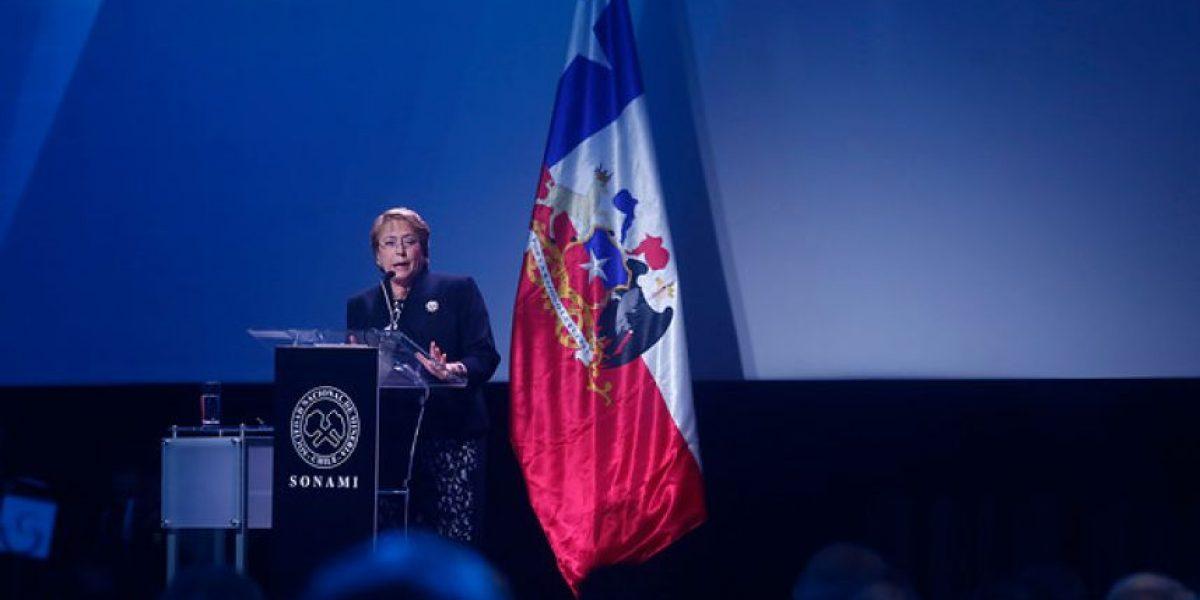 Bachelet en Cena de la Minería: muertes en accidentes