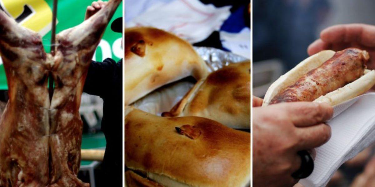¿Cuáles son las comidas más y menos calóricas de Fiestas Patrias?