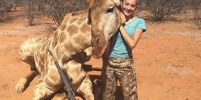 Niña fanática de la caza desata polémica tras compartir fotos de sus
