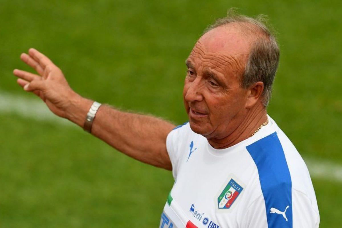 Giampiero Ventura es el nuevo DT de Italia, puesto que antes ocupaba Antonio Conte Foto:Getty Images. Imagen Por: