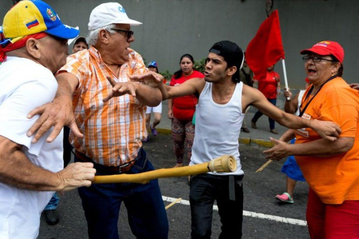 En algunos lugares hubo confrontaciones Foto:AFP. Imagen Por: