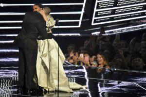 El famoso beso rechazado. Foto:Getty Images. Imagen Por: