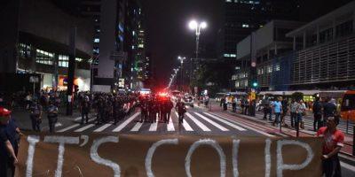 Las protestas contra la destitución de Dilma Rousseff terminaron en disturbios