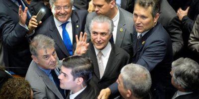 Michel Temer asumió como nuevo presidente de Brasil tras destitución de Rousseff