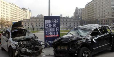 Con escena de alto impacto inician campaña para prevenir accidentes  durante fiestas patrias