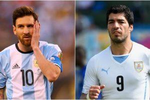 Argentina vs. Argentina en la séptima fecha de la Eliminatoria de Conmebol Foto:Getty Images. Imagen Por: