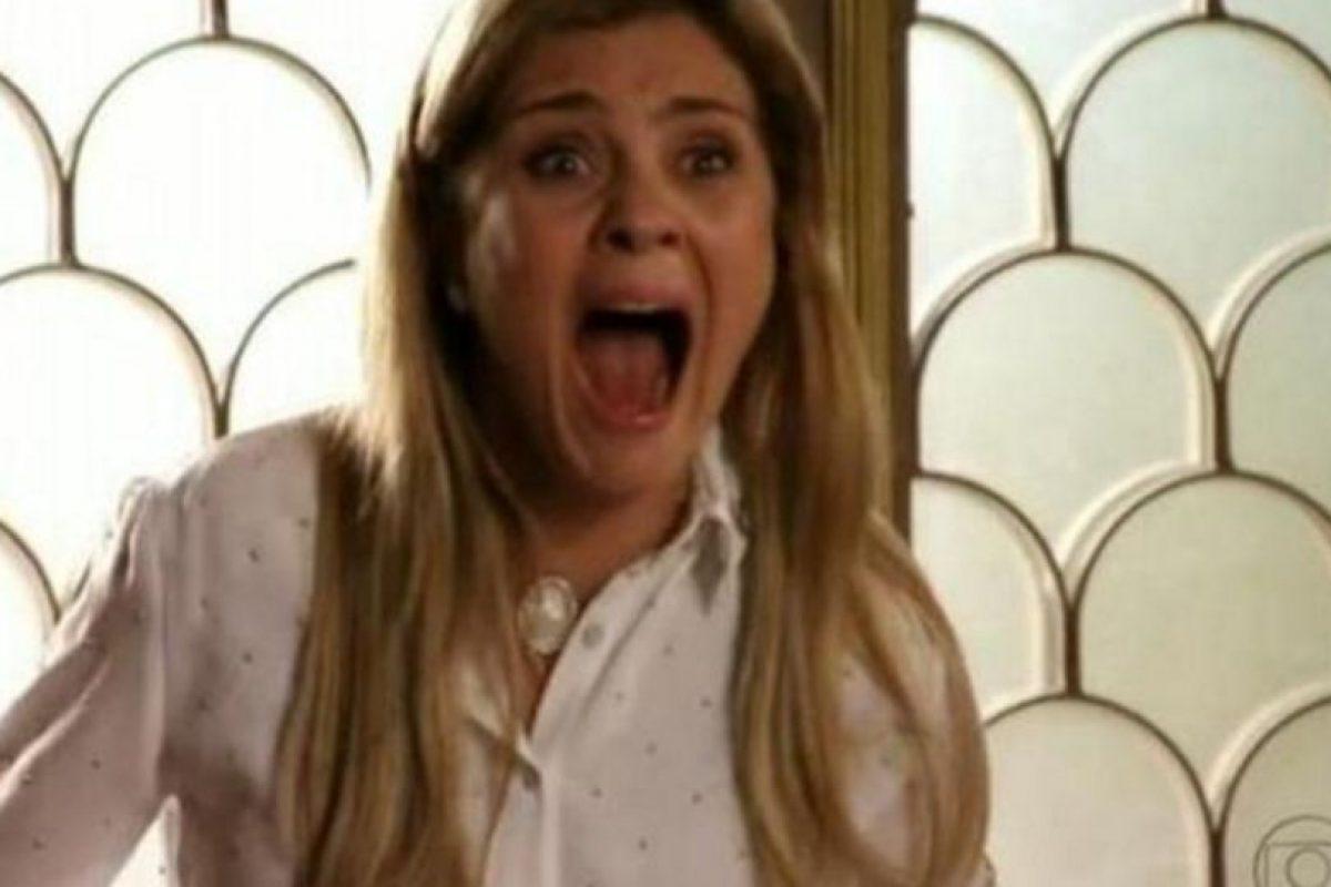 """""""Carminha"""" dejó a la actriz extenuada psicológicamente. Foto:Rede Globo. Imagen Por:"""