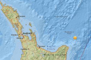 El terremoto ocurrió a 105 millas de Gisborne. Foto:USGS. Imagen Por: