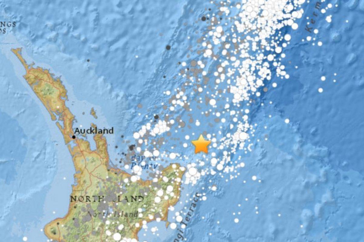 En la isla norte, donde está la capital, Auckland. Foto:USGS. Imagen Por: