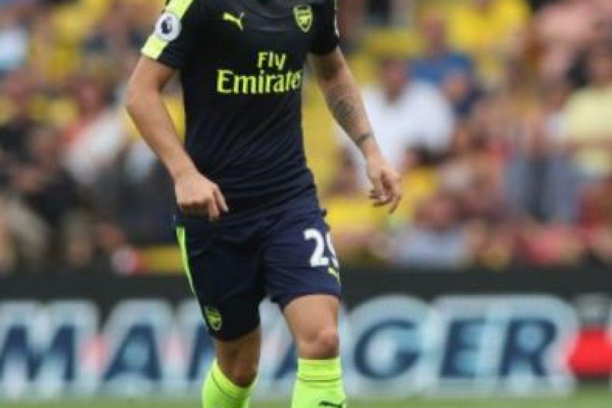 Granit Xhaka. El suizo llegó al Arsenal por 45 millones de euros. Imagen Por: