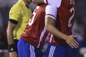Paraguay venció 2-1 a Chile, campeón de América Foto:AFP. Imagen Por: