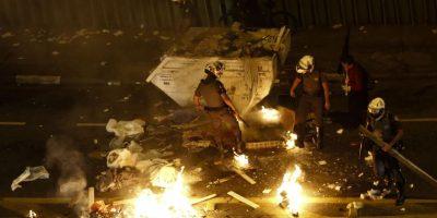 Nuevos enfrentamientos entre policía y manifestantes a favor de Rousseff en Sao Paulo