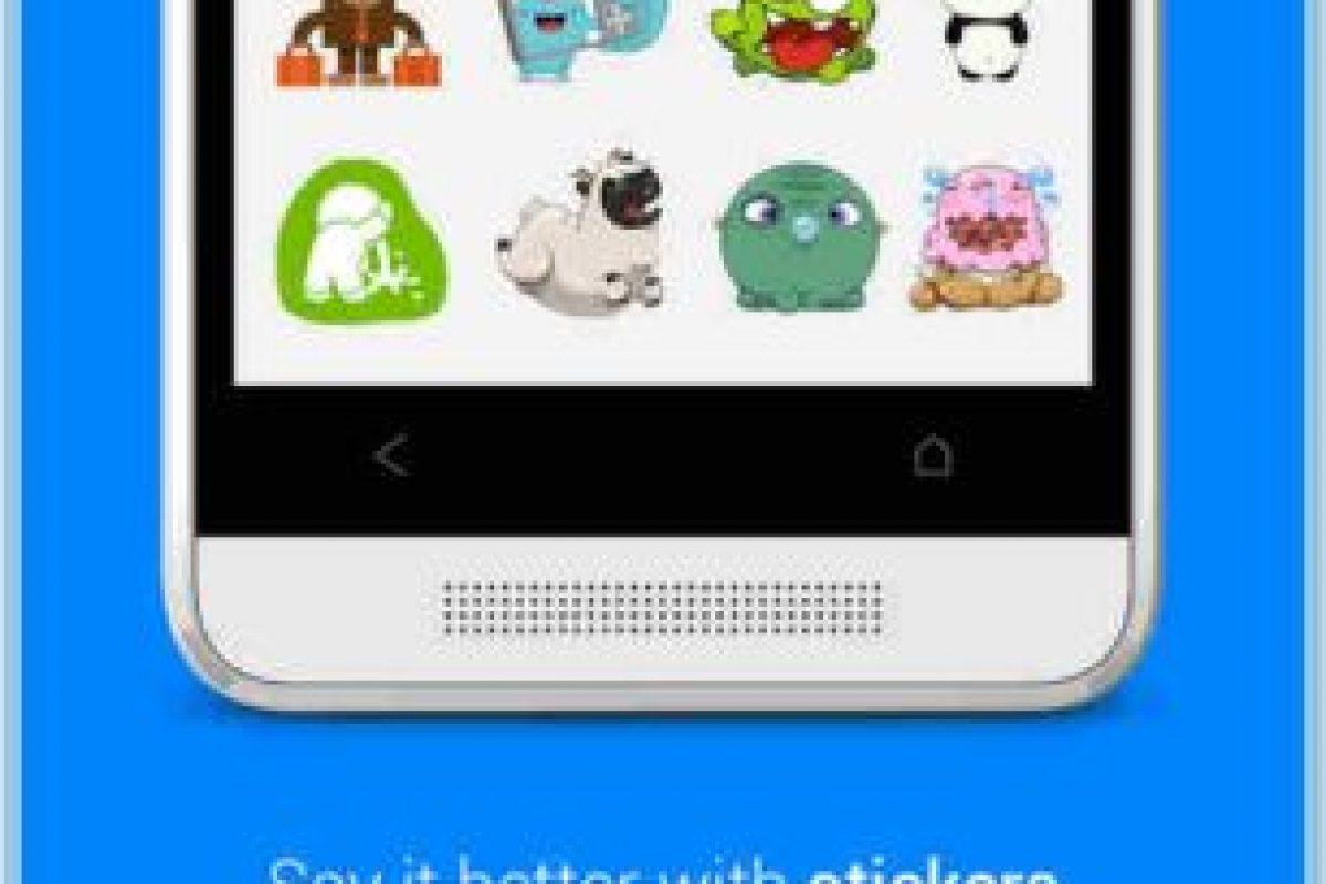 Y los stickers. Foto:Messenger. Imagen Por: