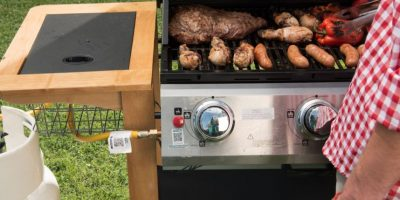 A prepararse para Fiestas Patrias con clases de asado en parrilla a gas