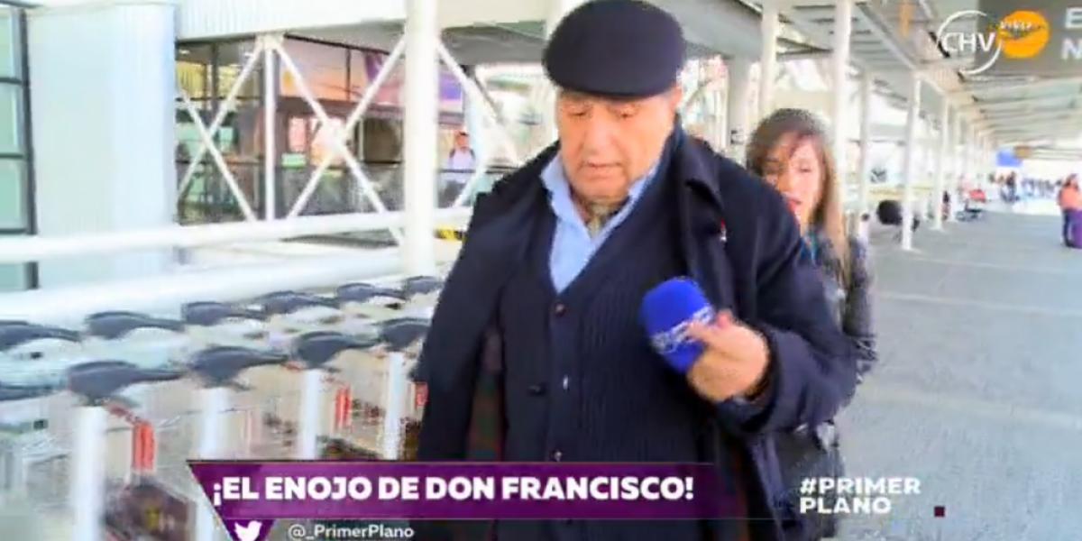 La airada reacción de Don Francisco ante pregunta sobre polémica biografía