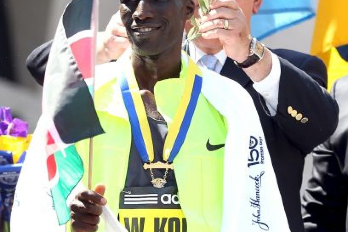 Entre ellos se encontraban el maratonista Wesley Korir Foto:Getty Images. Imagen Por: