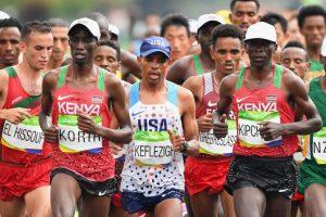 Durante cuatro días, varios atletas de Kenia fueron abandonados en una de las favelas de Brasil Foto:Getty Images. Imagen Por: