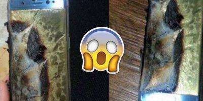 Fotos: Así se ven los Samsung Galaxy Note 7 que están explotando