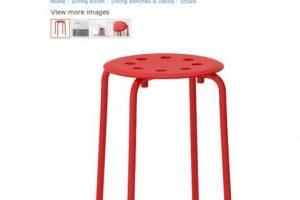 Este es el banco en cuestión. Foto:Ikea. Imagen Por: