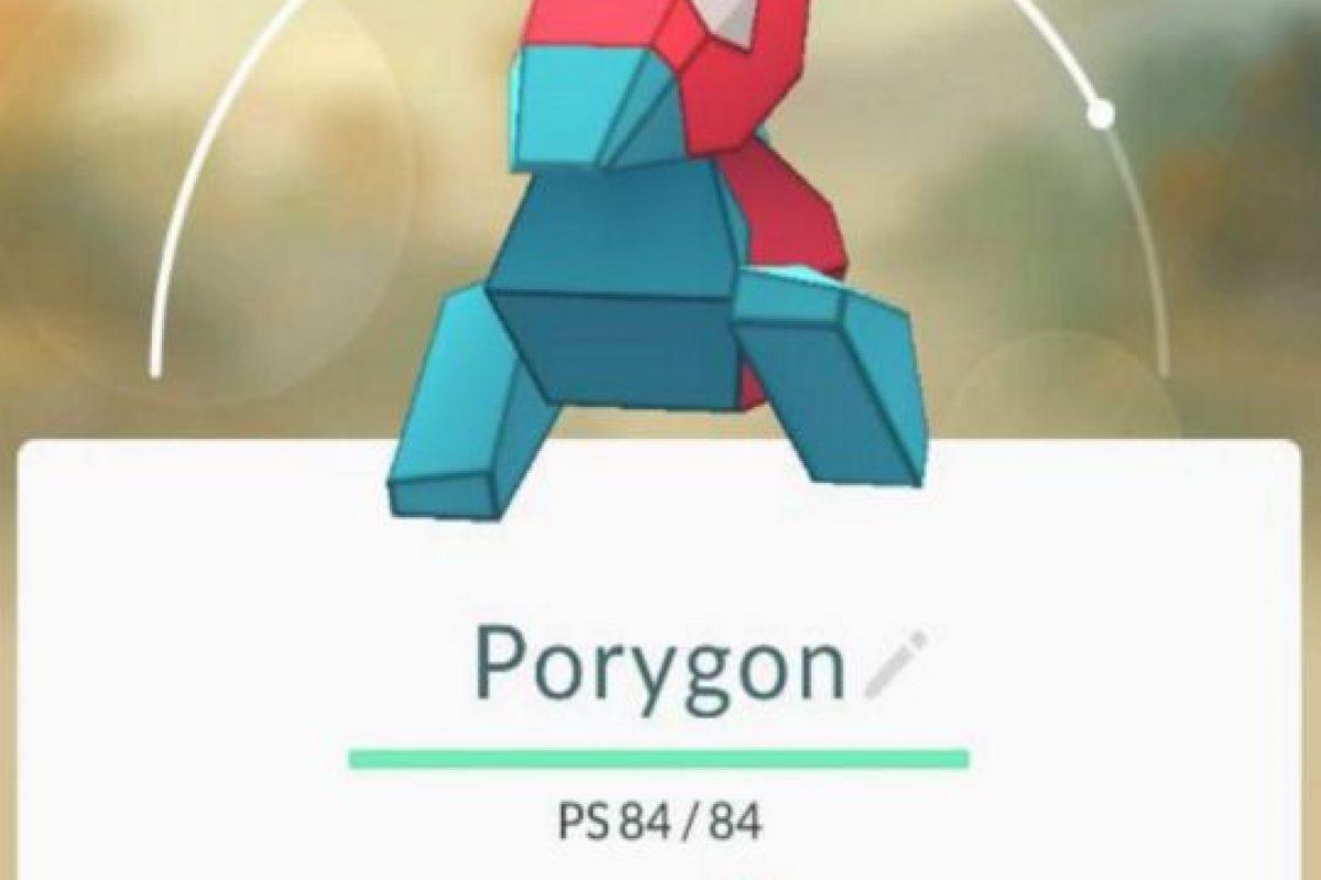 Porygon es uno de los más raros. Foto:Pokémon Go. Imagen Por: