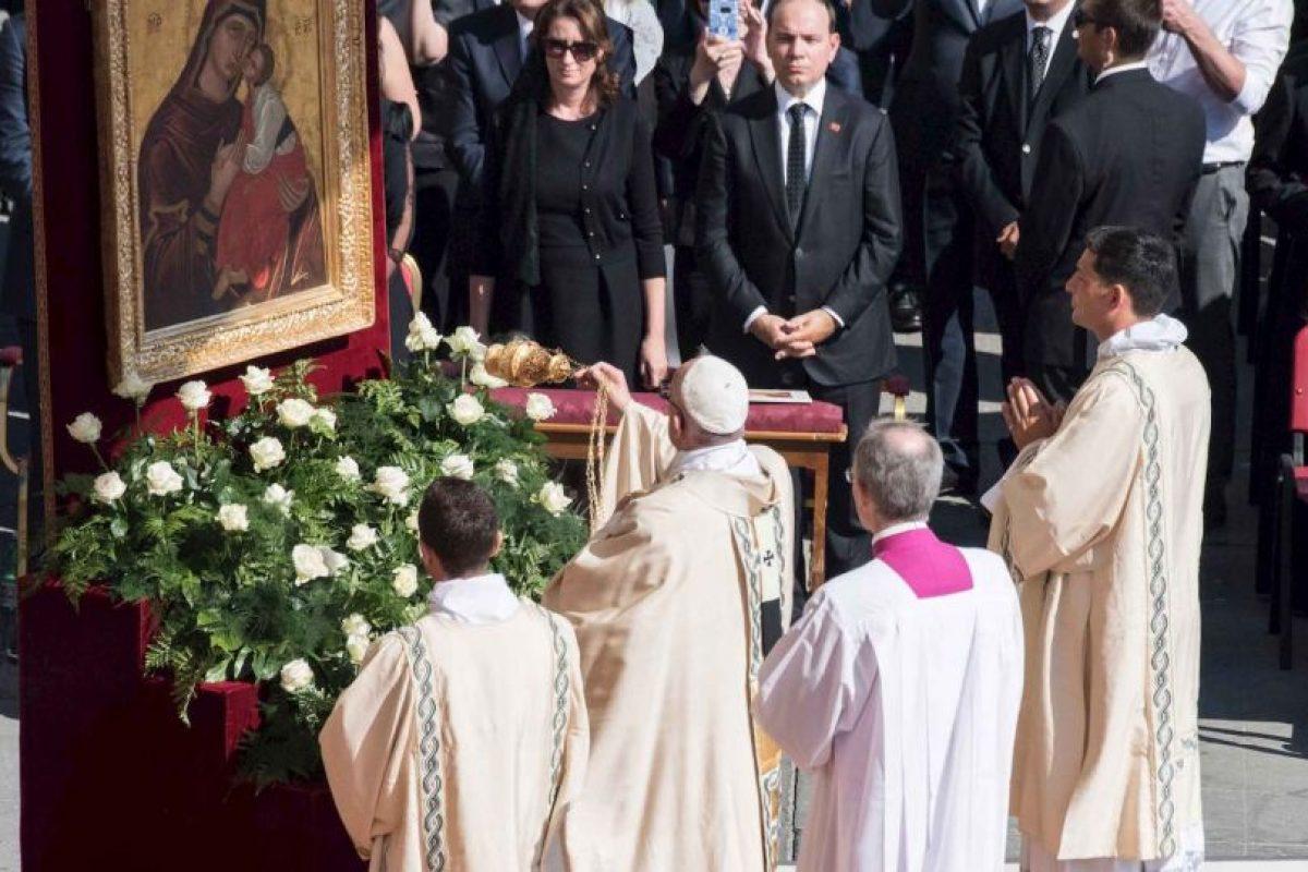 Fue en la Plaza de San Pedro, en Roma. Foto:Getty Images. Imagen Por: