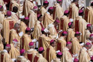 El Papa Francisco la declaró santa en latín Foto:Getty Images. Imagen Por: