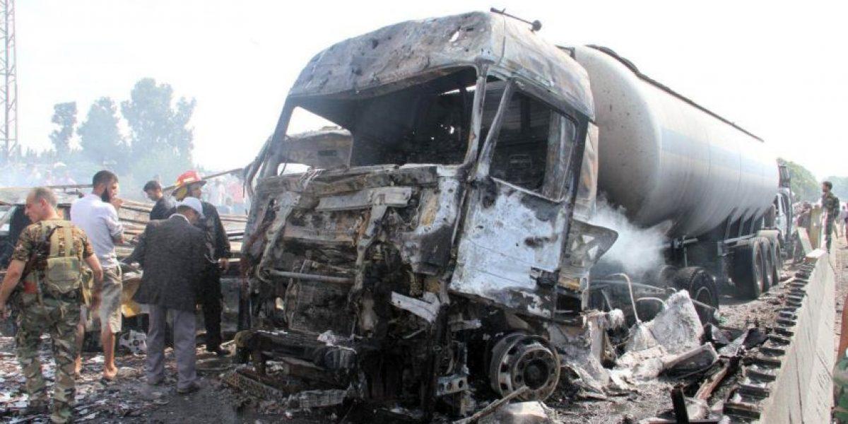 Al menos 43 muertos en Siria en una serie de atentados con explosivos