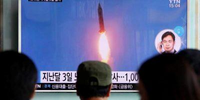 Corea del Norte dispara 3 misiles de medio alcance al Mar de Japón